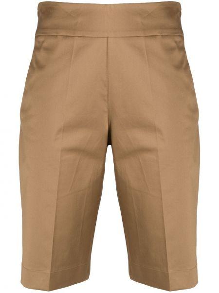 Прямые хлопковые шорты с поясом D.exterior