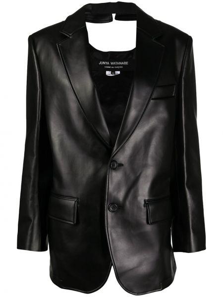 Длинная куртка - черная Junya Watanabe