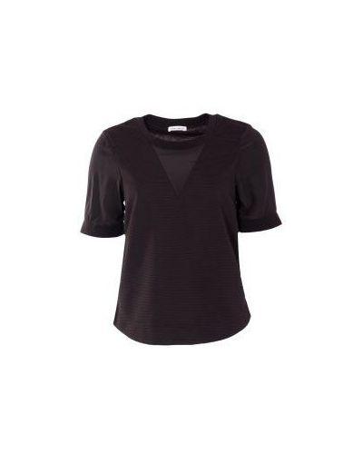 Повседневная черная футболка Frankie Morello