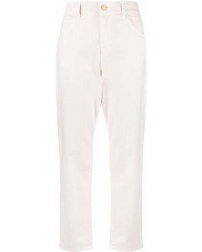 Прямые джинсы классические - белые Blugirl