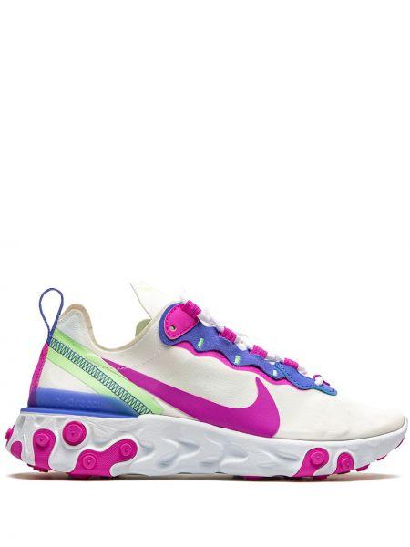 Nylon różowy top zasznurować okrągły Nike