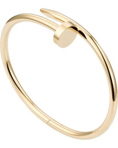 Желтый золотой браслет Cartier