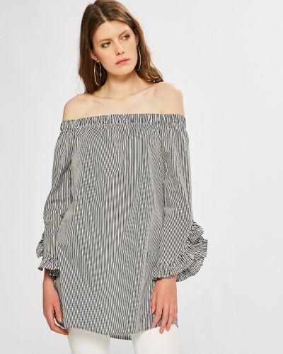 Блузка хлопковая с вырезом Noisy May