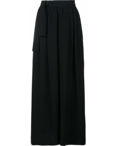 Свободные брюки укороченные черные Tome