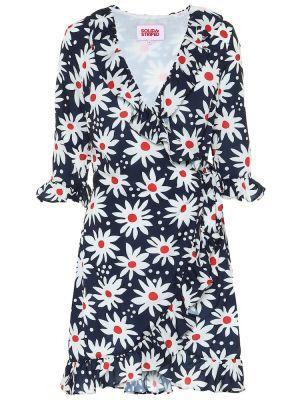 Летнее платье с запахом в полоску Solid & Striped