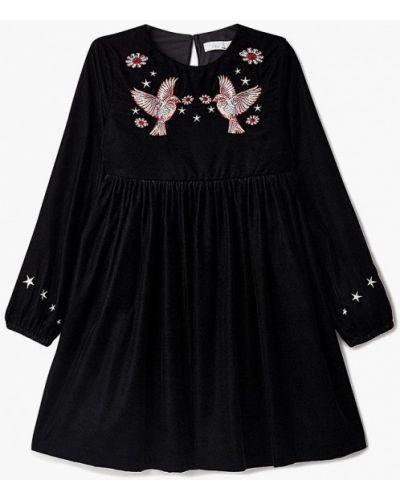 Черное платье осеннее Stella Mccartney Kids