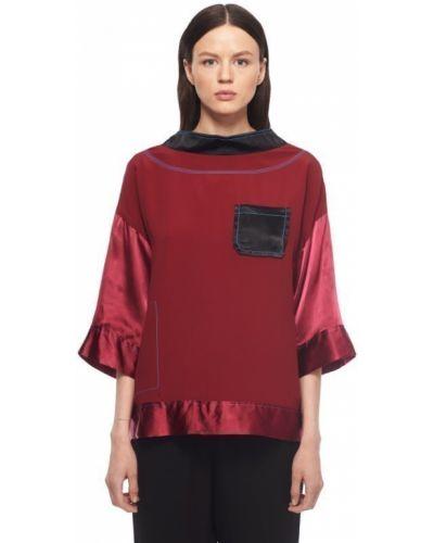 Красная блузка Marni