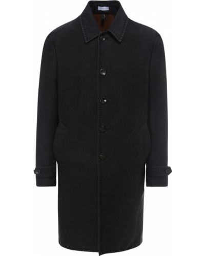 Czarny płaszcz Boglioli