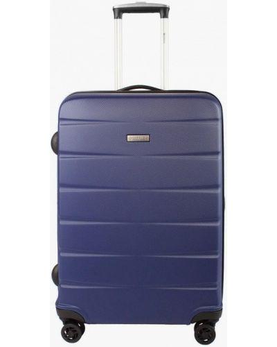 Синий чемодан Edmins