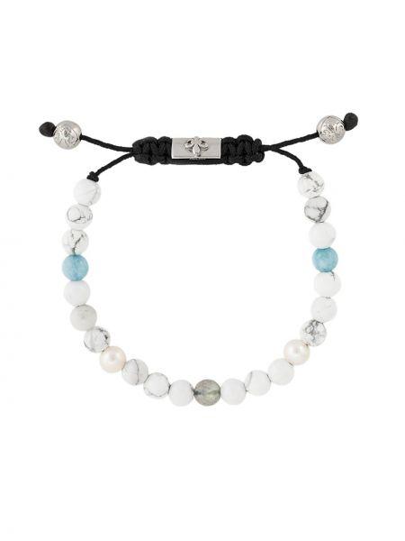 Bransoletka ze srebra biały Nialaya Jewelry