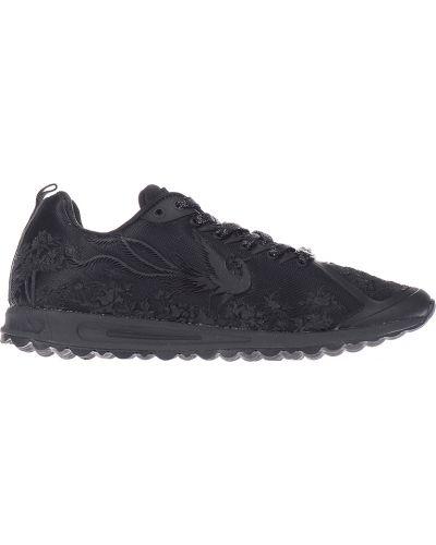 Черные кроссовки Plein Sport