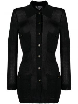 Złota bluzka - czarna Chanel Pre-owned