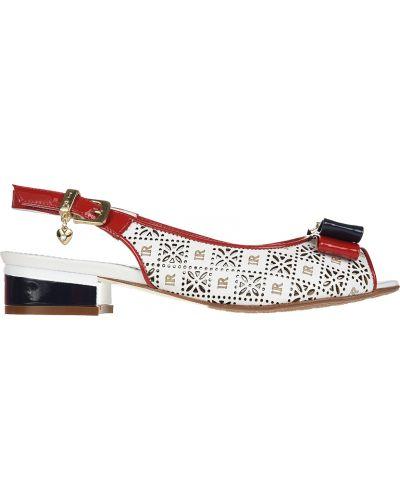 Босоножки на каблуке с перфорацией Ilasio Renzoni