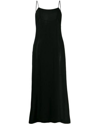 Платье макси винтажная на бретелях Chanel Vintage