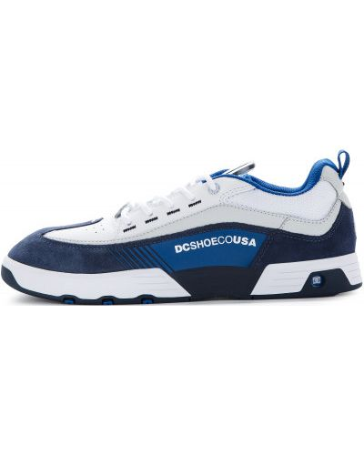 Кеды белые на шнуровке Dc Shoes