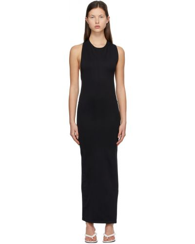 Sukienka asymetryczna - czarna Simon Miller