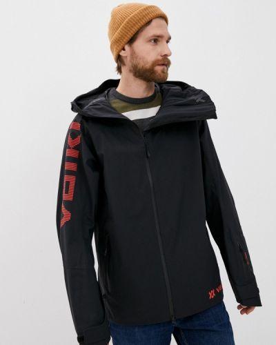 Черная куртка горнолыжная VÖlkl