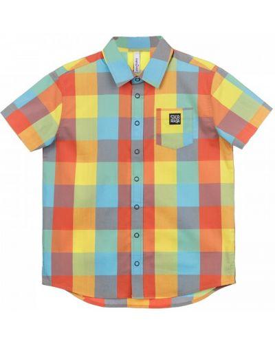 Хлопковая свободная блузка свободного кроя Playtoday