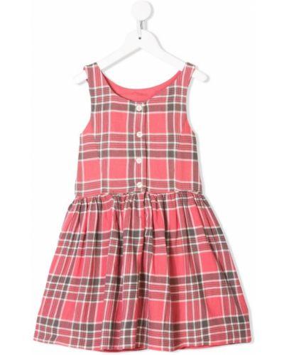 Платье с рукавами приталенное розовый Ralph Lauren Kids
