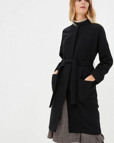 Черное пальто осеннее Immagi