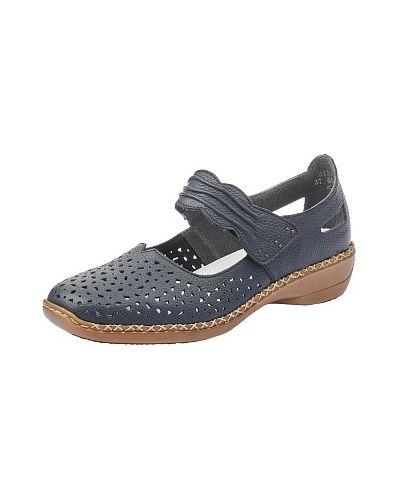 Синие туфли Rieker