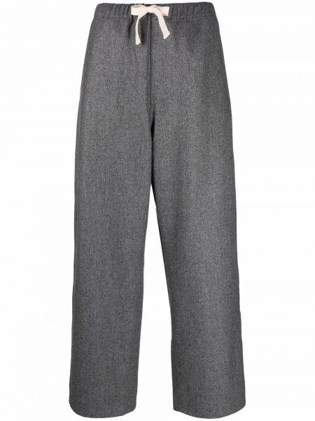 Шерстяные брюки - серые Sofie D'hoore