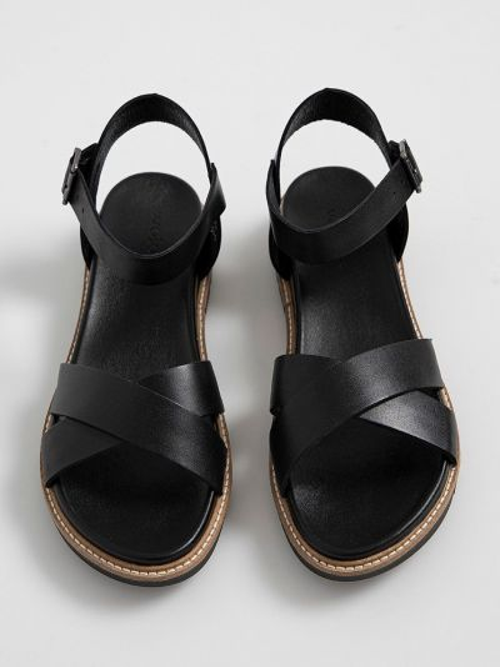 Кожаные сандалии Wojas
