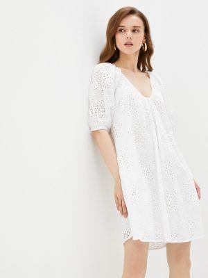 Белое прямое платье Imperial