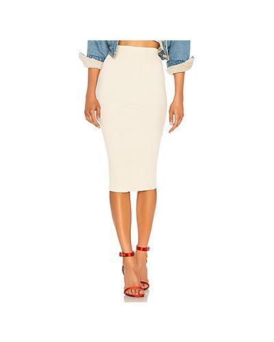 Вязаная юбка на резинке с поясом Lpa