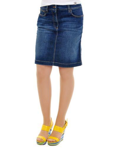 Юбка синяя Dolce & Gabbana