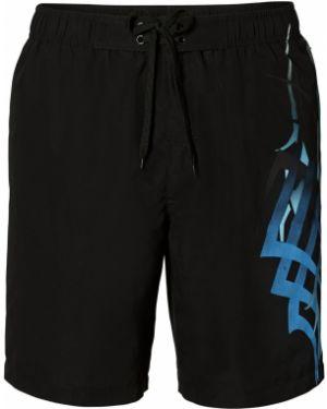 Плавки-боксеры с карманами с принтом Bonprix