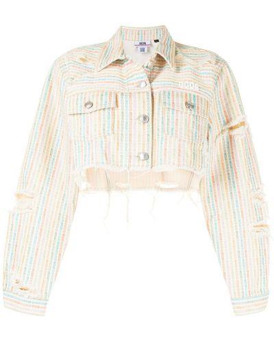 Джинсовая куртка с воротником Gcds