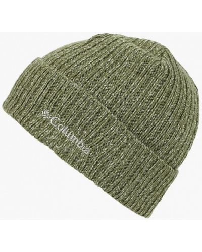 Зеленая шапка осенняя Columbia