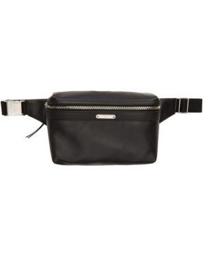 Черная ключница с подкладкой из натуральной кожи со шлицей Saint Laurent