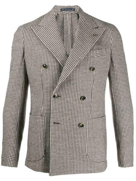 Пиджак двубортный твидовый Al Duca D'aosta 1902