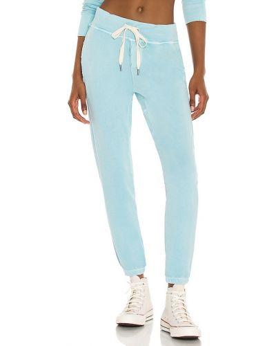 Niebieskie joggery bawełniane Nsf