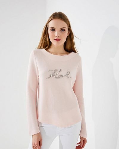 Розовый свитшот Karl Lagerfeld