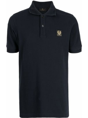 Koszula krótki rękaw - niebieska Belstaff