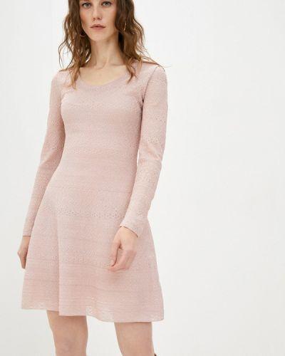 Повседневное розовое платье Missoni