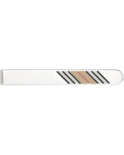 Krawat srebrny Burberry