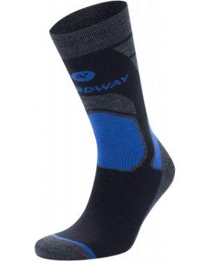 Спортивные носки шерстяные синий Nordway