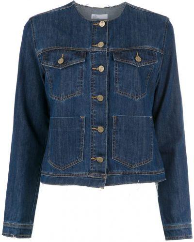 Синяя джинсовая куртка на пуговицах Nk