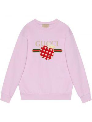 Bluza dresowa - różowa Gucci
