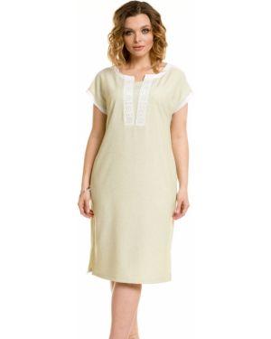 Летнее платье со вставками через плечо Novita