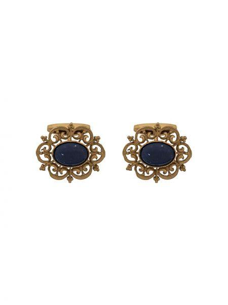 Запонки золотой Dolce & Gabbana
