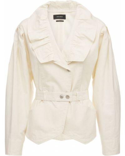 Ватная куртка с поясом на кнопках Isabel Marant