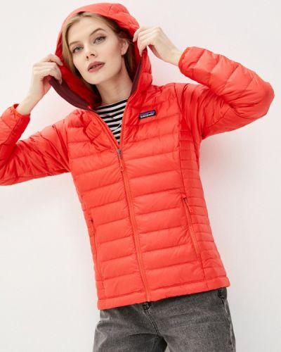 Утепленная куртка - красная Patagonia