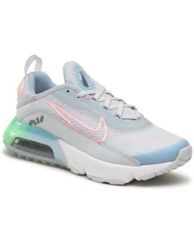 Niebieskie sneakersy Nike