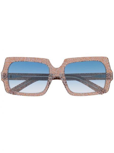 Okulary srebrne - khaki Acne Studios