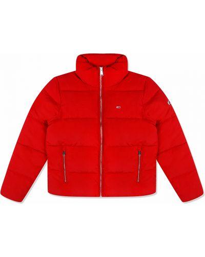 Стеганая куртка - красная Tommy Jeans